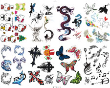 Jednorazowe tatuaże reklamowe